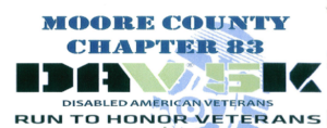 Disabled American Veterans Run to Honor Veterans | 5K @ Moore County Veterans Memorial | Carthage | North Carolina | United States