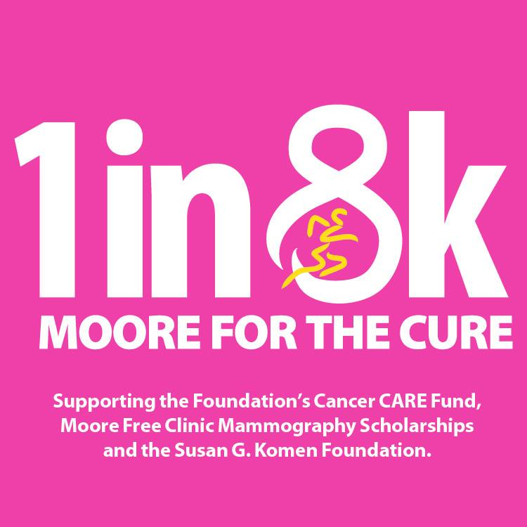 1 in 8k Moore for the Cure @ Village Green - Pinehurst | Pinehurst | North Carolina | United States