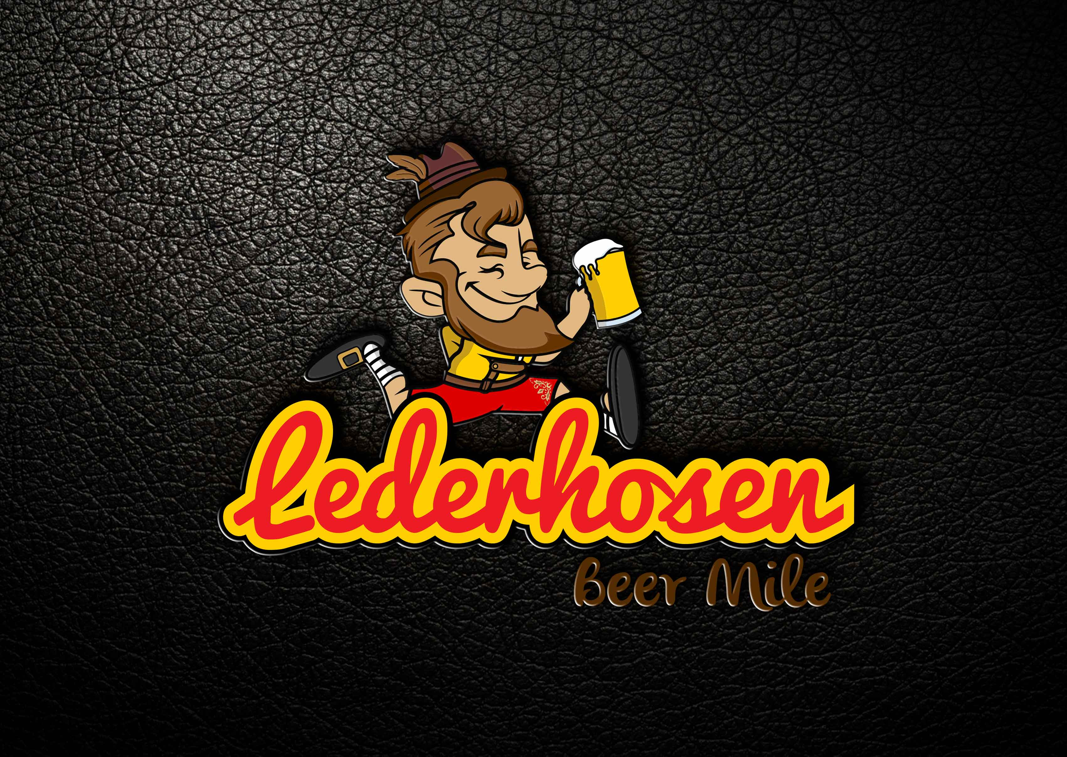 Lederhosen Beer Mile